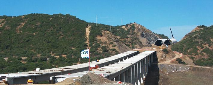 Obras lineales. Autovías y carreteras